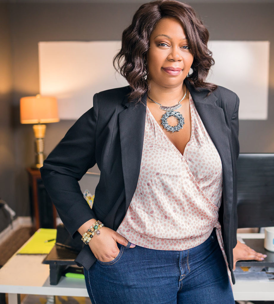 Photo of Dr. Lisa Richardson, an Atlanta-based marketing and IT consultant.